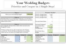 wedding budget planner wedding budget weddings and events
