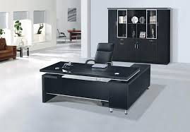 Computer Desk In Black Stylish Office Desks Office Furniture For All Budgets With Black