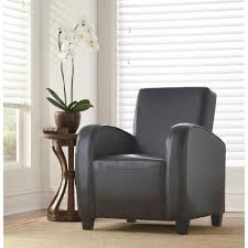 Livingroom Club Armrests Gray Accent Chairs Chairs The Home Depot