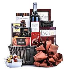 wine and chocolate gift baskets wine chocolate gift basket