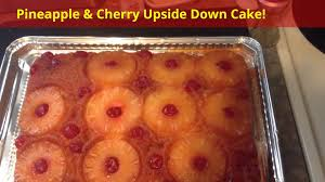 pineapple u0026 cherry upside down cake youtube
