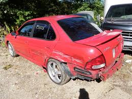 red nissan sentra 2003 nissan sentra se r spec v quality used oem replacement parts