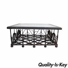 Unique Table Ls Unique Antique Wrought Iron Mission Arts Crafts Coffee Table