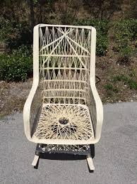 Shipping A Rocking Chair Russell Woodard Spun Fiberglass Rocking Chair Shipping Not