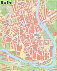 map uk bath bath city center map
