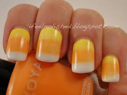cute halloween nails candy corn nail designs gallery nail art designs