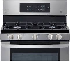 Simmer Plate For Gas Cooktop Lg 5 4 Cu Ft Freestanding Gas Range Silver Lrg3061st Best Buy
