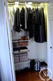 Organized Closet How To Organize And Transform A Closet Stonegable