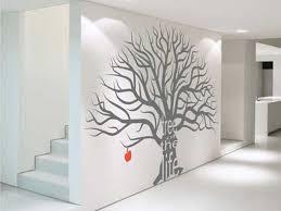 wall art ideas design grey tree art wall decor ideas large