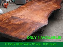 and curly grain redwood for sale