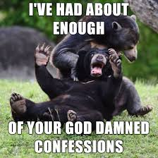 Truth Bear Meme - snitches get stitches rebrn com