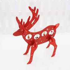 Cheap Reindeer Christmas Decorations by Popular Reindeer Table Decorations Buy Cheap Reindeer Table