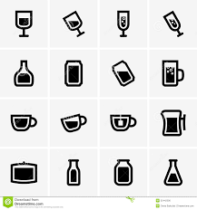 drink vector drink icons royalty free stock image image 32442506