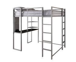 Bunk Bed Metal Frame Dhp Furniture Abode Size Loft Bed