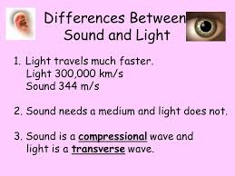 What Travels Faster Light Or Sound Waves A Wave Is A Rhythmic Disturbance That Transfers Energy