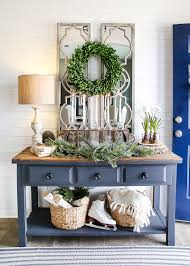 Entryway Decorating Ideas Pictures 6 After Christmas Winter Foyer Decorating Ideas