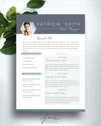 modern resume template word 2017 creative professional resume template cv template cover letter