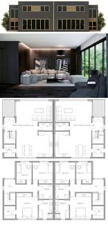 Best Duplex House Plans Images On Pinterest Duplex House - Interior design of house plans