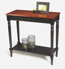 Entry Way Tables by Half Moon Entry Table Half Moon Entry Table Luxurious Black