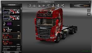 mod car game euro truck simulator 2 full tuning mod for all trucks by kaptan 38 gamesmods net fs17