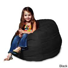 memory foam micro suede kids beanbag chair for free shipping