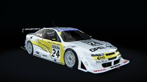 opel calibra race car calibra dtm opel car detail assetto corsa database