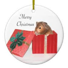 hamster tree decorations ornaments zazzle co uk