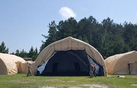 Tent Building Airbeam Inflatable Military Tents U0026 Shelter Systems Federal