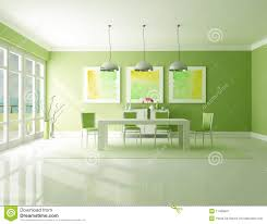 Green Dining Room Green Dining Room Stock Illustration Illustration Of Light 17459427