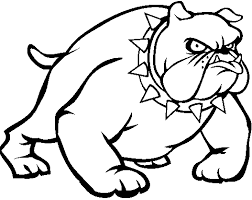 dog coloring pages online bulldog dog free coloring pages printable for kids university of