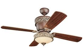 Tuscan Ceiling Fans With Lights Monte Carlo 4vg42 28tbd L Villager Flush Mount Ceiling Fan With
