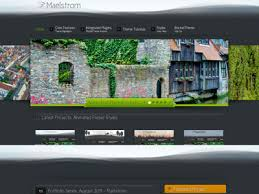 maelstrom wordpress theme wordpress portfolio template