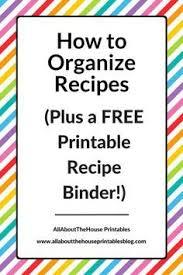 free printable recipe pages recipe sheet free printables http alainaann com recipe binder free