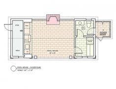 ashley pool house floor plan new house pinterest pool houses
