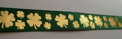 shamrock ribbon shamrock ribbon