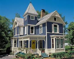 blue exterior house colors daily knick knacks painted lady