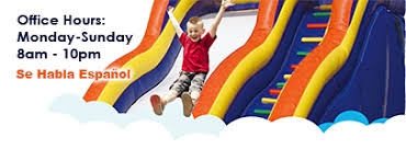 party rentals utah utah bounce house and rentals home page bouncin bins