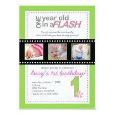 birthday invites awesome one year old birthday invitations ideas