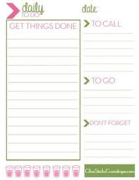 free printable to do list for office free printable making the most of today list work pinterest