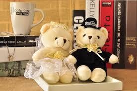 hochzeitsgeschenk braut aliexpress 40 cm braut und bräutigam hochzeit teddybär
