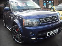range rover sport blue used 2010 land rover range rover sport v8 hse for sale in