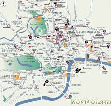 New Orleans Attractions Map by London Maps Prepossessing Map Of London Attractions Printable