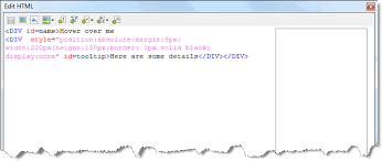 html div tag using javascript inside text areas the tibco