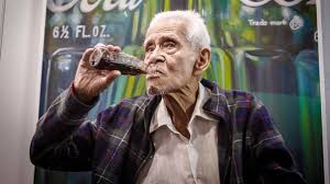old man 100 year old man in mexico city toasts a fellow centenarian the