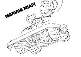 mario kart 18 video games u2013 printable coloring pages