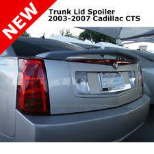 spoilers u0026 wings for cadillac cts ebay