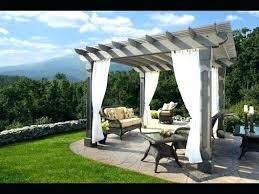 Outdoor Gazebo With Curtains Uncategorized 26 Cool Gazebo Curtain Ideas Gazebo Curtain Ideas