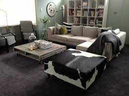 Cowhide Patchwork Rugs In Contemporary Home Decor Modern by Patchwork Rectangular Wool Rug Seal By Gan Gandia Blasco Design