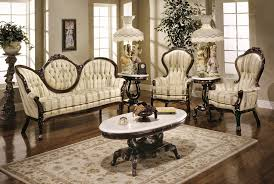 victorian livingroom classic victorian style living room with cream sofa and chairs with