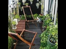 small apartment balcony furniture ideas youtube